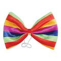 Jumbo Rainbow Bow Tie