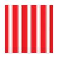 Red & White Stripes Luncheon Napkins