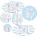 Foil Welcome Baby Cutouts