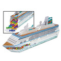 3-D Cruise Ship Centerpiece