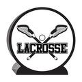 3-D Lacrosse Centerpiece