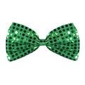 Green Glitz 'N Gleam Bow Tie