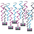 Cassette Tape Whirls
