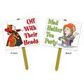Alice In Wonderland Yard Sign
