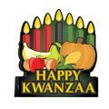 3-D Happy Kwanzaa Centerpiece