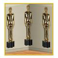 Awards Night Male Statuettes Backdrop