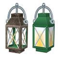 3-D Lantern Centerpiece