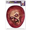 Zombie Head Toilet Topper Peel 'N Place