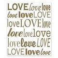 """Love"" Insta-Mural"