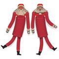 Vintage Christmas Santa Tissue Dancers