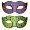 Jumbo Mardi Gras Mask Cutouts
