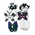 Ultima Fanci-Feather Masks