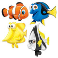 Under The Sea Fish Cutouts