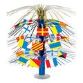 Nautical Flag Cascade Centerpiece