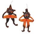 Vintage Halloween Jtd Tango Witch & Cat