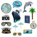 Bon Voyage Photo Fun Signs