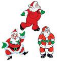Vintage Christmas Santa Cutouts