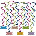 Dog Birthday Whirls