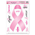 Pink Ribbon/Find A Cure Peel 'N Place
