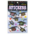 Hats Off Graduation Stickers
