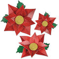 Poinsettia Paper Flowers