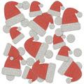 Santa Hat Deluxe Sparkle Confetti