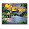 Dinosaur Insta-Mural