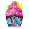 3-D Cupcake Centerpiece