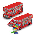 3-D Double Decker Bus Centerpiece