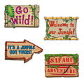 Jungle Sign Cutouts