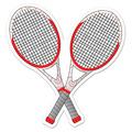 Tennis Racquets Cutout