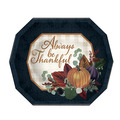 Fall Thanksgiving Dinner Plates
