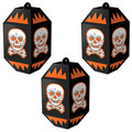 Vintage Halloween Skull Paper Lanterns
