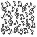 Musical Note Deluxe Sparkle Confetti