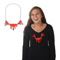 Dripping Blood Necklace