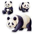 Panda Cutouts