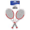 Tennis Racquets Peel 'N Place