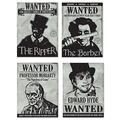 Sherlock Holmes Wanted Sign Cutouts
