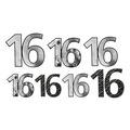 """""""16"""" Foil Cutouts"""