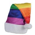 Rainbow Santa Hat