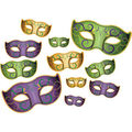 Mardi Gras Mask Cutouts