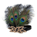 Flapper Peacock Headband