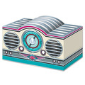 3-D Rock & Roll Radio Centerpiece