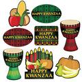 Happy Kwanzaa Cutouts