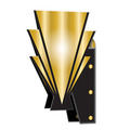 3-D Great 20's Wall Sconces