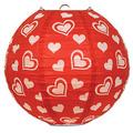 Heart Paper Lanterns
