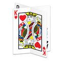 3-D Playing Card Centerpiece
