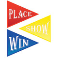 Win, Place & Show Cutouts