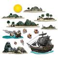 Pirate Ship & Island Props