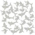 Shark Deluxe Sparkle Confetti